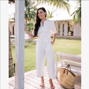 Gal Meets Glam Collection Sawyer Poplin Jumpsuit
